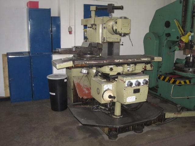Milling machines - tool - FU 250x1000/2