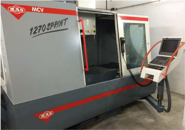 Obrábacie centrá - vertikálne - MCV 1270 Sprint