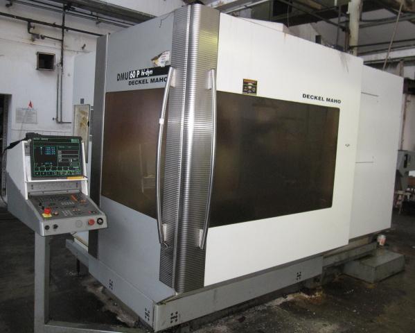 Machining centres - vertical - DMU 60P Hi-dyn