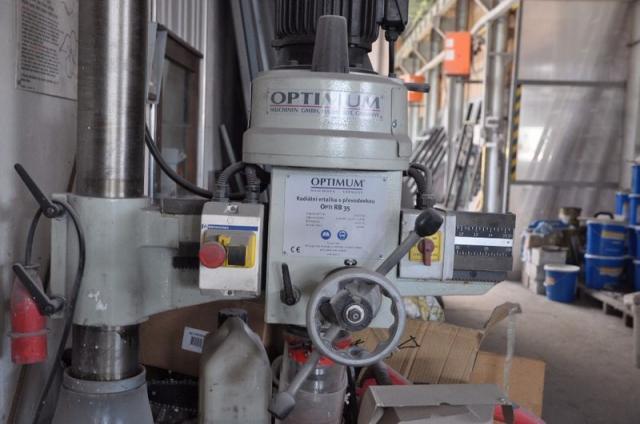 Drilling machines - radial - OPTI RB 35