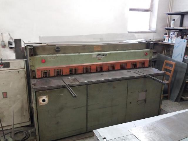 Nůžky - tabulové - NTE 2000/2,5B