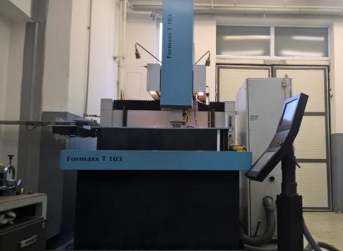Ostatné stroje - vyiskrovačky - FORMAXX T 103 H
