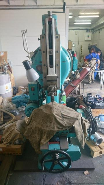 Other machines - shaping and slotting machines - Francouzská obrážečka
