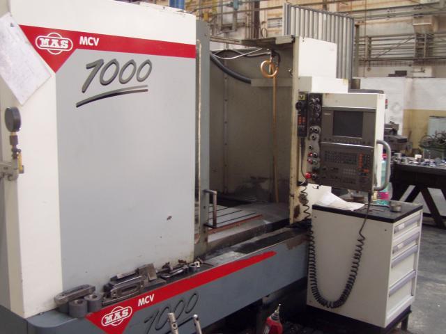 Obrábacie centrá - vertikálne - MCV 1000
