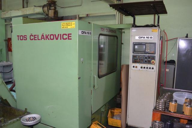 Stroje na ozubení - frézky na ozubení - OFA 16B