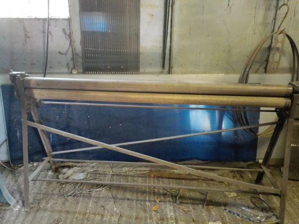 Bending rolls - plate - XZCR 2000/0,8