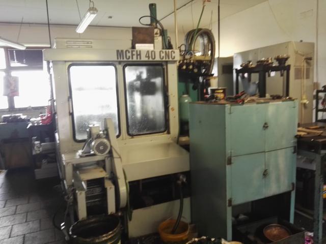 Obrábacie centrá - horizontálne - MCFH 40 CNC