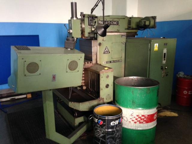 Milling machines - CNC - FNG 40 CNC