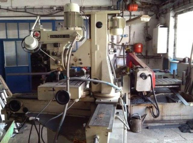 Milling machines - tool - UNITOS 25