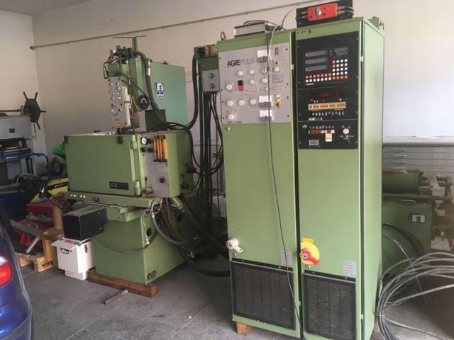 Ostatní stroje - vyjiskřovačky - EMS 2