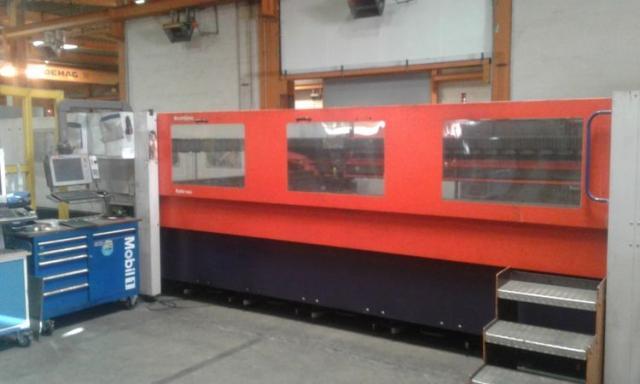 Pálící stroje - lasery - Bystar L 4025 – 120 6 KW