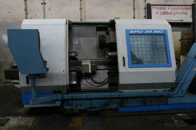 Soustruhy - CNC - SPU 20 MC