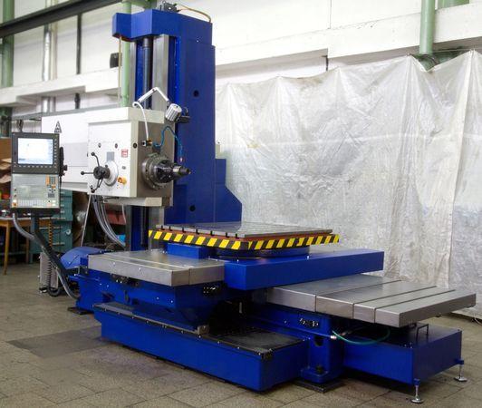 Horizontálne vyvrtávačky - stolové - WH 10 CNC
