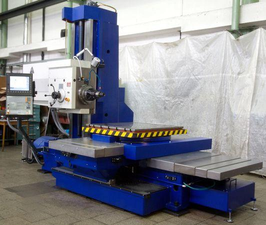 Horizontální vyvrtávačky - stolové - WH 10 CNC