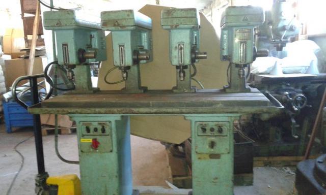 Drilling machines - peedestal - Čtyřče