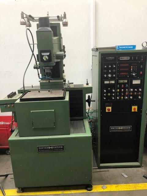 Ostatní stroje - vyjiskřovačky - Dieter Hansen 450S