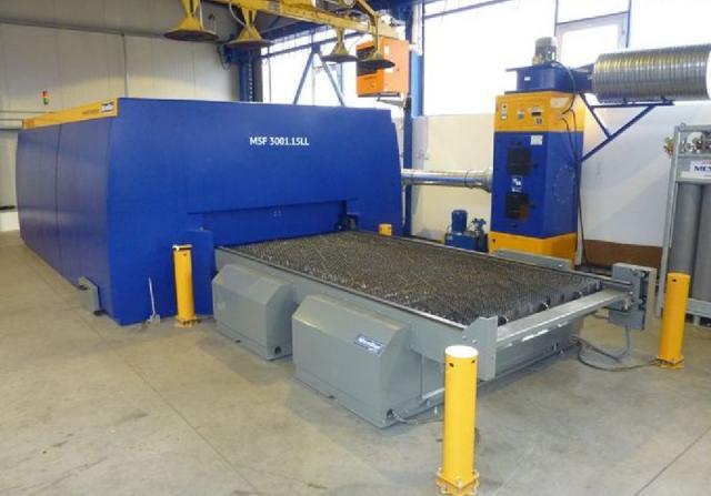 Pálící stroje - lasery - Fiber laser MSF 3001.15LL