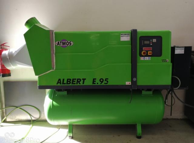 Ostatní stroje - ostatní - ALBERT E95