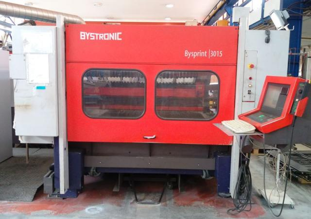 Flame cutting machines - lasers - CO2 laser 3015