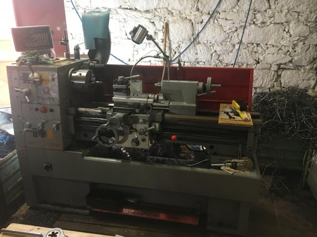 Lathes - centre - ED 1000PIDIG