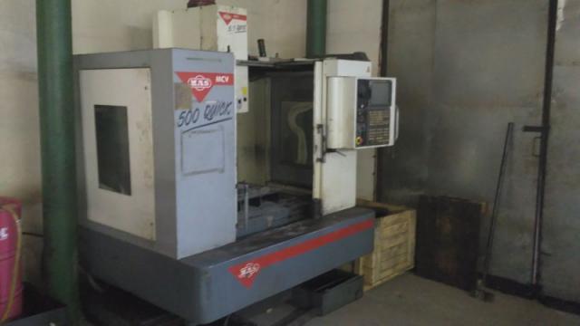 Obráběcí centra - vertikální - MCV 500