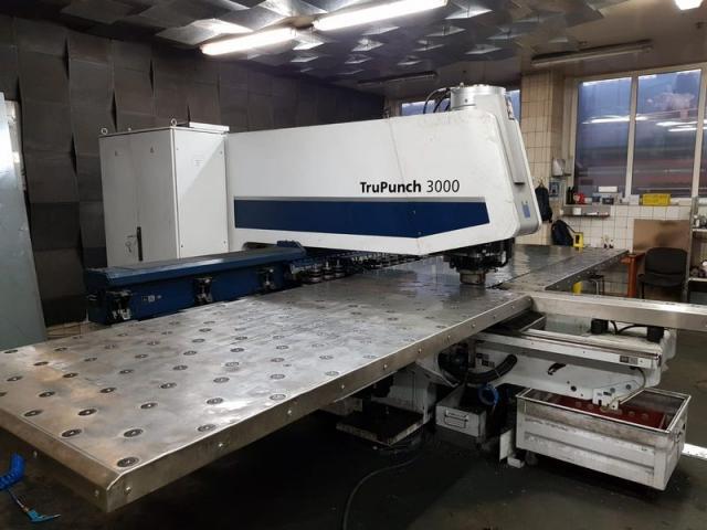 Ostatní stroje - vysekávací stroje - TruPunch 3000