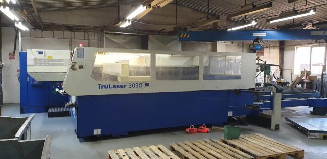 Pálící stroje - lasery - TruLaser 3030