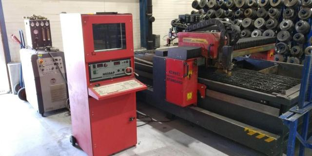 Flame cutting machines - plasmas - 1600 Kombi PLUS