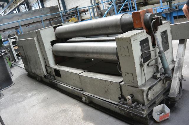 Bending rolls - plate - XZMP 2000/8C