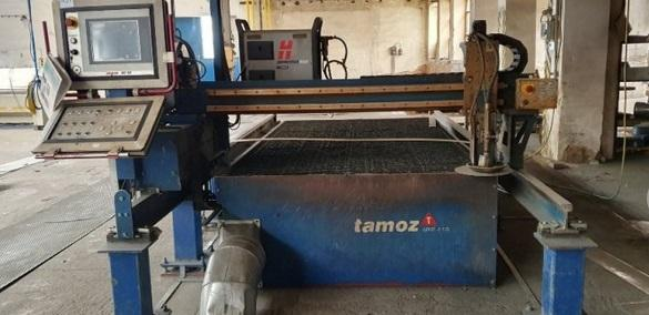 Flame cutting machines - plasmas - Cortina 2100S