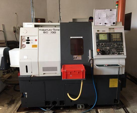 Sústruhy - CNC - SC 200
