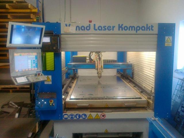 Flame cutting machines - lasers - Fiber Laser Kompakt