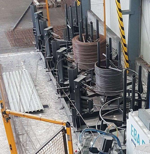 Ostatní stroje - ostatní - Ohýbací stroj na betonářskou ocel EBA S12