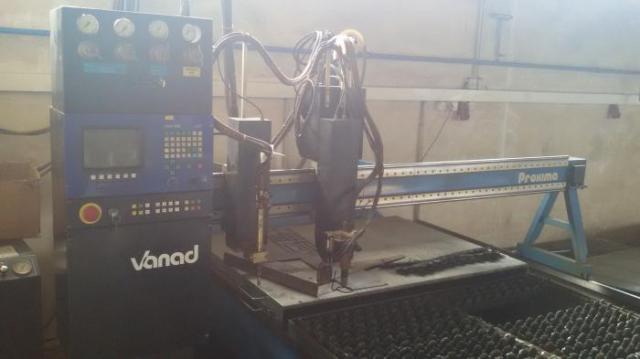 Pálící stroje - plasmy - Proxima