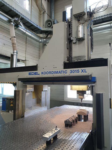 Frézky - CNC - Koordimatic 3015 XL