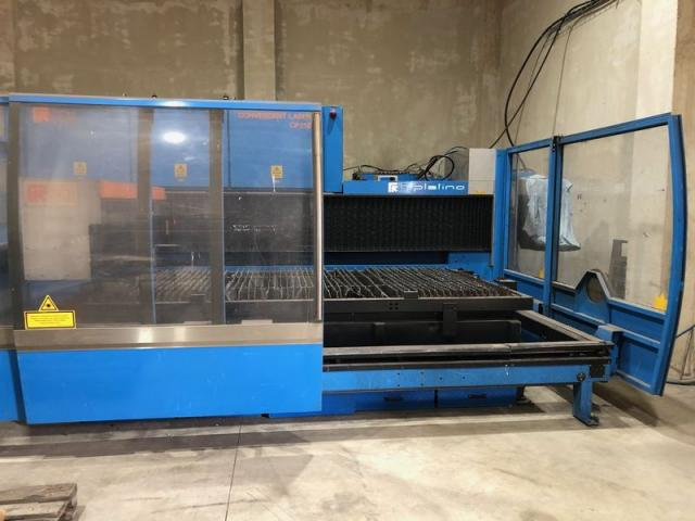 Flame cutting machines - lasers - Platino 1530