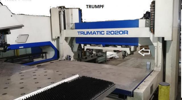 Ostatní stroje - vysekávací stroje - TRUMATIC 2020R - FMC SheetMaster