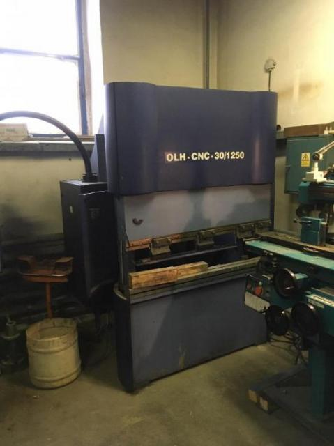 Presses - brake - OLH - CNC 30/1250
