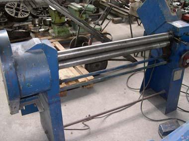 Bending rolls - plate - MRT 1050/1,5