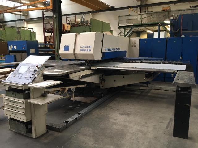 Ostatní stroje - vysekávací stroje - Trumatic 600L