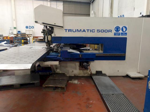 Ostatní stroje - vysekávací stroje - Trumatic 500