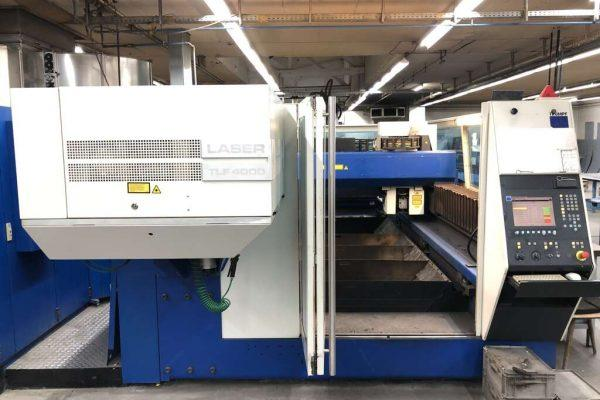 Flame cutting machines - lasers - TRUMATIC L 3040