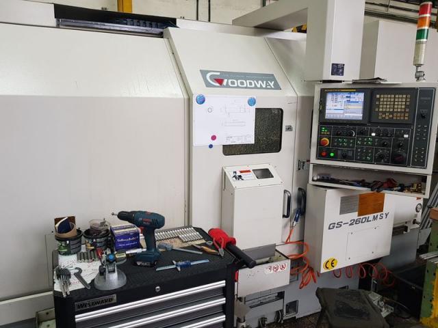 Soustruhy - CNC - GS-260 LMSY