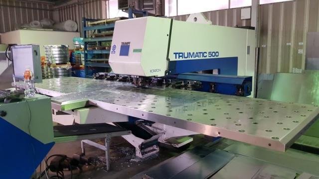 Ostatné stroje - vysekávacie stroje - TC 500