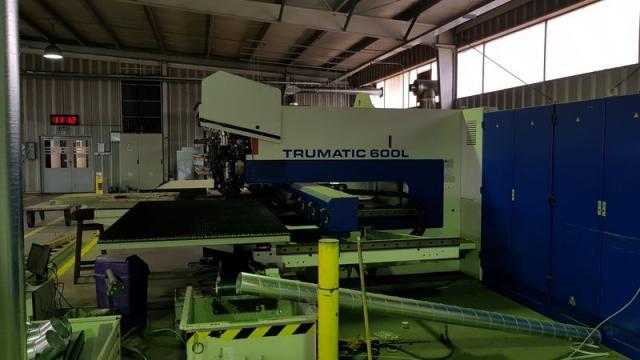 Páliace stroje - lasery - TC 600L - 1300