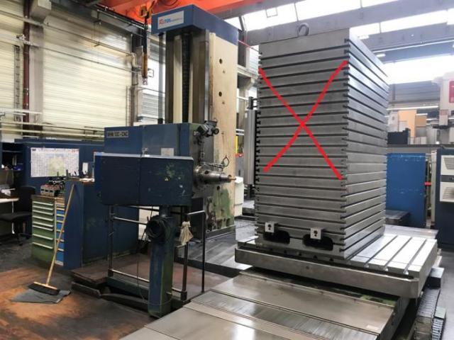 Horizontální vyvrtávačky - stolové - WHN 13.8 CNC