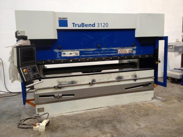 Presses - brake - TruBend 3120