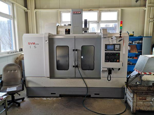 Milling machines - CNC - SVM 102