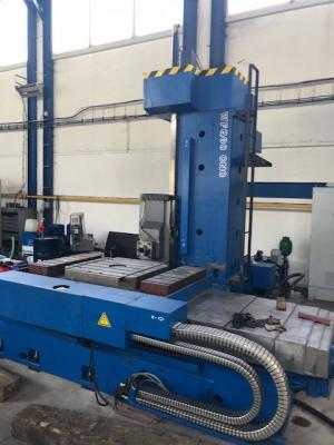 Horizontal borers - table type - WFQ 80 CNC