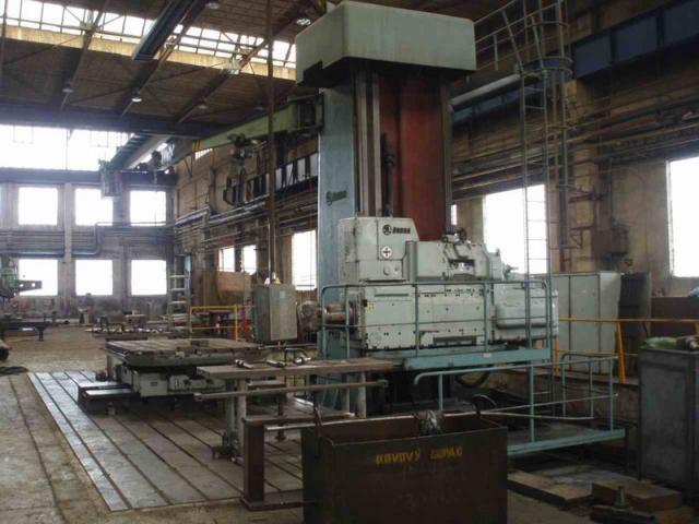 Horizontal borers - floor type - W 160 H/8000